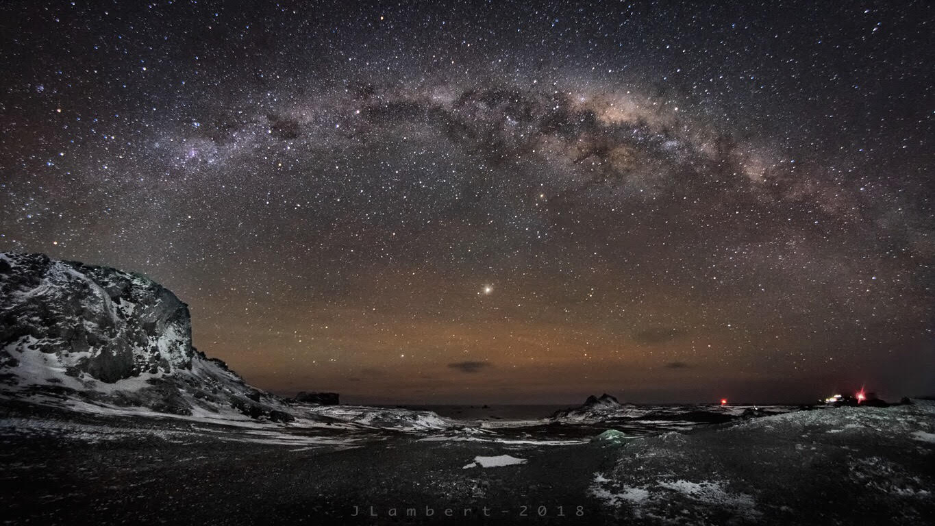 18 de Mayo. Full Antarctic Milky Way !!.